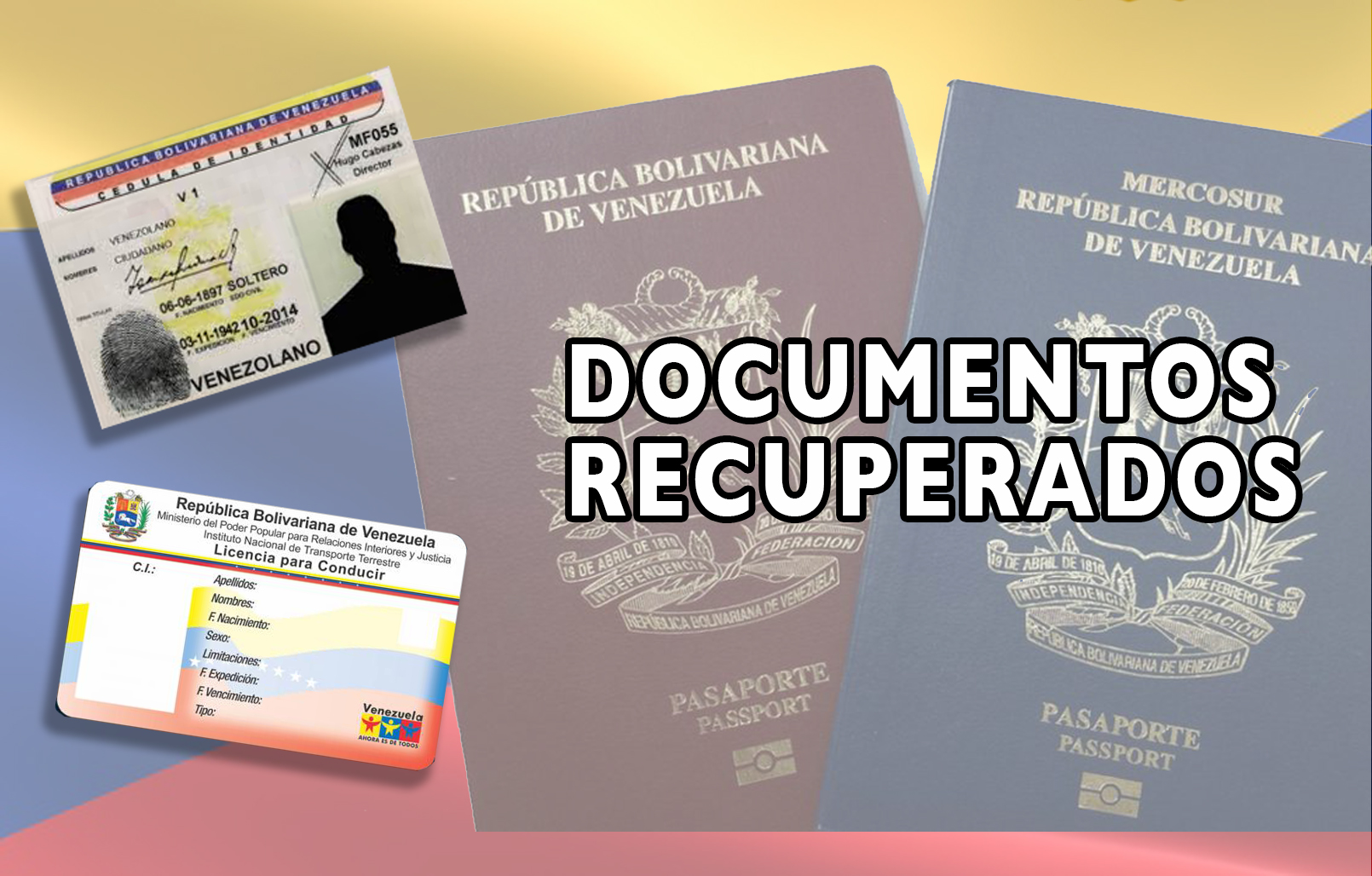 Documentos recuperados